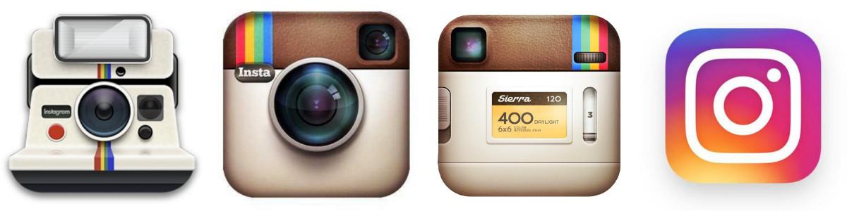Instagram logo - historie